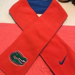 Nike Florida Gator Scarf ,Fleece Orange and Blue